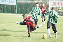 Karvinští fotbalisté v úvodním přípravném utkání remizovali v Opavě.