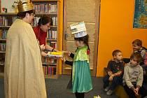 Pasování malých školáků na čtenáře