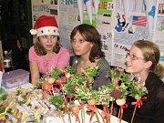 Vánoční jarmark šenovských školáků