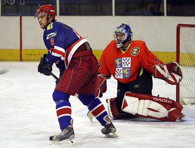 Karvinští hokejisté zabrali a vyhráli nad Kopřivnicí. Stále jim však patří místo až v dolní polovině šestičlenné tabulky krajské ligy.