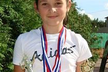 Nicol Hořavková potvrdila dobrou formu na několika turnajích, z nichž si odvezla vedle pohárů i cenné body do celostátního žebříčku.