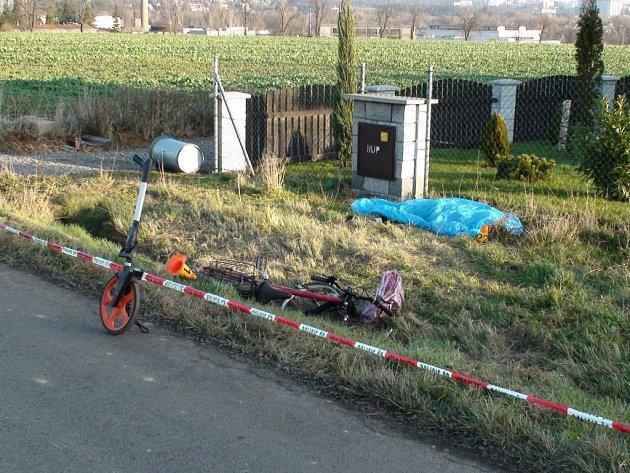 Tragická nehoda na Václavovické ulici v Šenově