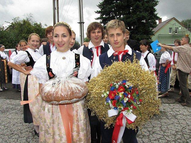 V Havířově se v sobotu konaly tradiční Slezské dožínky.