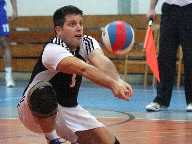 Volejbalisté Slavie přes veškerou snahu prohráli ve Zlíně 0:3.
