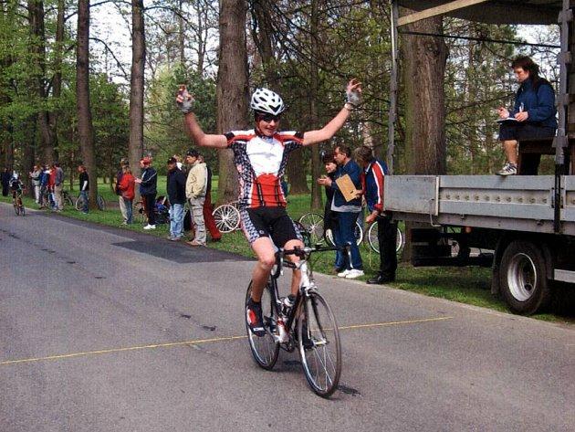 Opavský cyklista Matěj Lasák vyhrál Velkou cenu Opavy a pomalu se připravuje na Závod míru mládeže.