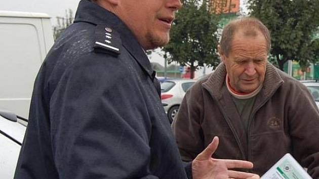 René Černohorský, tiskový mluvčí opavské Policie.