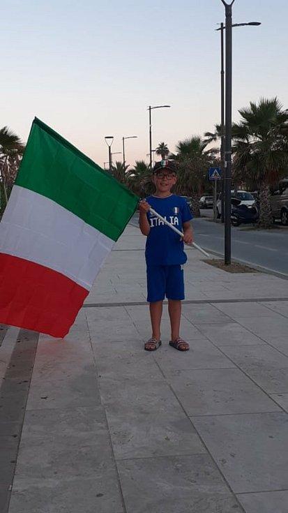 Češka Gabriela, která žije v Itálii zažila atmosféru EURA