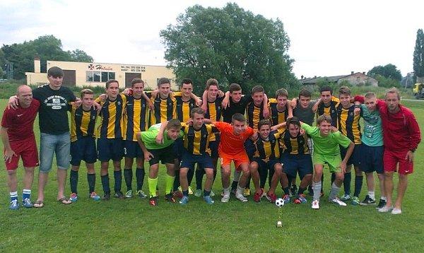 Vítězný tým Opava Cupu 2014 – Slezský FC Opava U17.