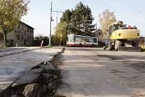 Zastávka na točně v Kateřinkách musela být po havárii trolejbusu odstraněna. Nová vznikne nejdříve na jaře.