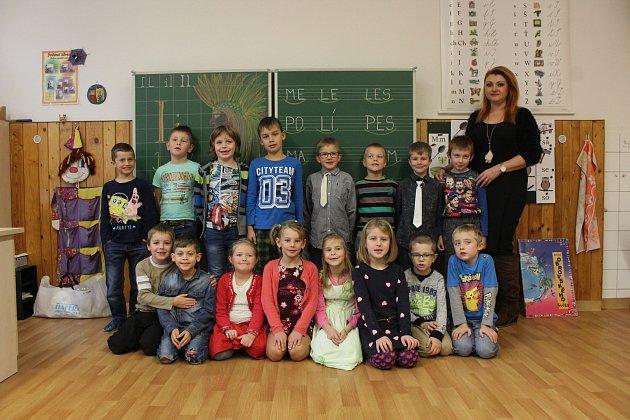 Základní škola Hradec nad Moravicí, 1.třída.