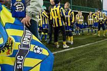 Páté Vánoční utkání současných a bývalých fotbalistů Slezského FC Opava a jejich fanoušků opět velmi slušně zaplnilo sportovní areál v Kylešovicích.