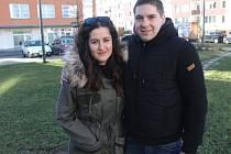 Daniela Vargová a Jan Prášil sice už nějakou dobu žijí v zahraničí, letošní Vánoce však strávili doma v rodné Opavě.
