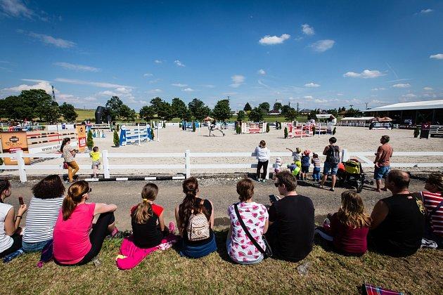 Čtyřdenní maraton parkúrových závodů hostilo zrekonstruované kolbiště vOpavě-Kateřinách.