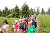 Výprava turistů z Moravy a Slezska obdivuje krásy západu Čech i sousedního Bavorska.