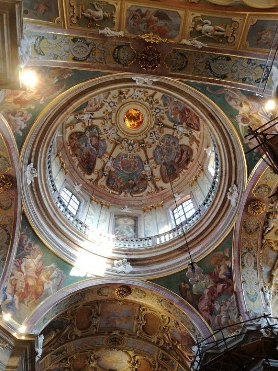 Bazilika na Svatém Kopečku v Olomouci.