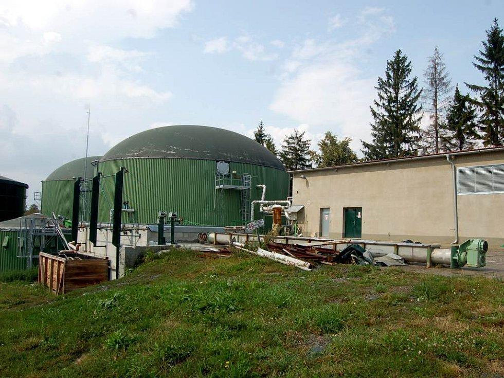 Bioplynová stanice. Černá můra pro mnohé obyvatele Vítkova a Klokočova.