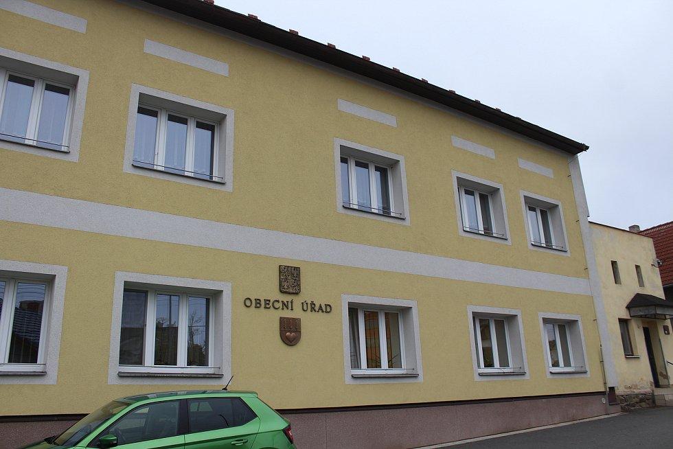 Obecní úřad v Chlebičově.