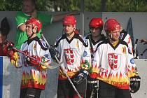 Hokejbalisté SHC Opava.