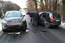 Dopravní nehoda u Vřesiny.