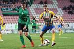 Utkání 27. kola FORTUNA:LIGY 1. FK Příbram - SFC Opava 3:1 (1:0).