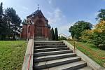 Kaple sv. Kříže.