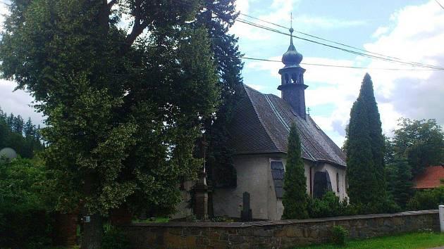 Kostel v Kružberku patří mezi nejstarší dochované ve Slezsku.