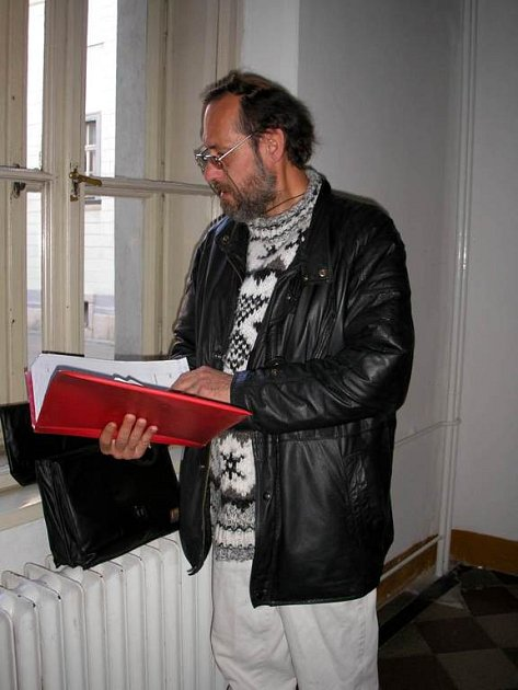 Václav Maléř se připravuje na soud.