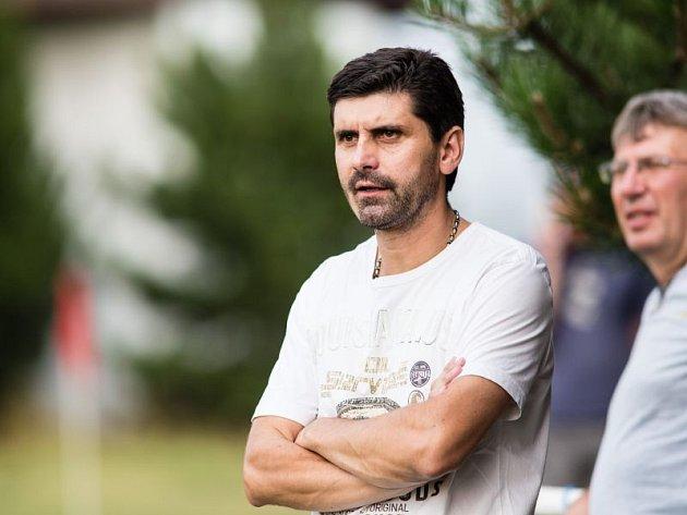 Martin Janík, trenér Pusté Polomi.