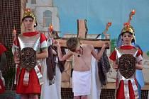 Děti znovu předvedou známý biblický příběh.