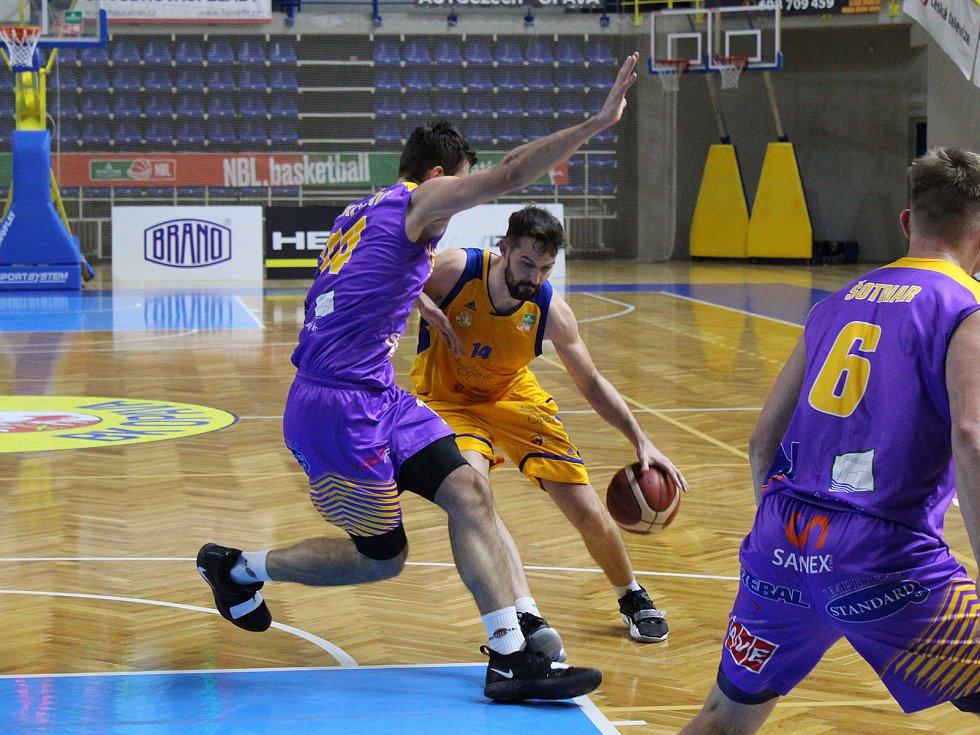 Basketbalisté Opavy vyhráli nad ústeckou Slunetou. Foto: Ondřej Ludvík