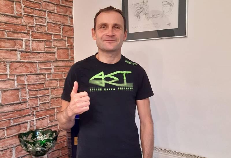 Marek Stromský se dává dohromady po vážném zranění