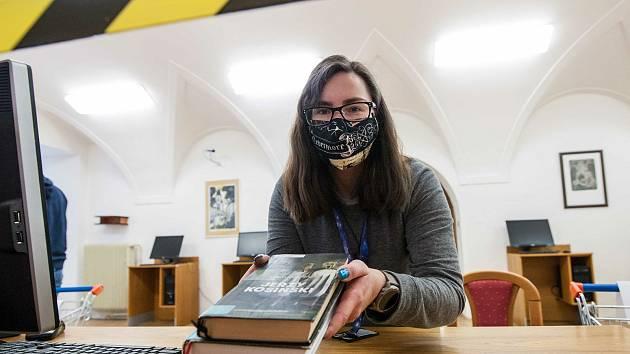 Výdejní okénka v knihovnách jsou v tomto období k vidění často.