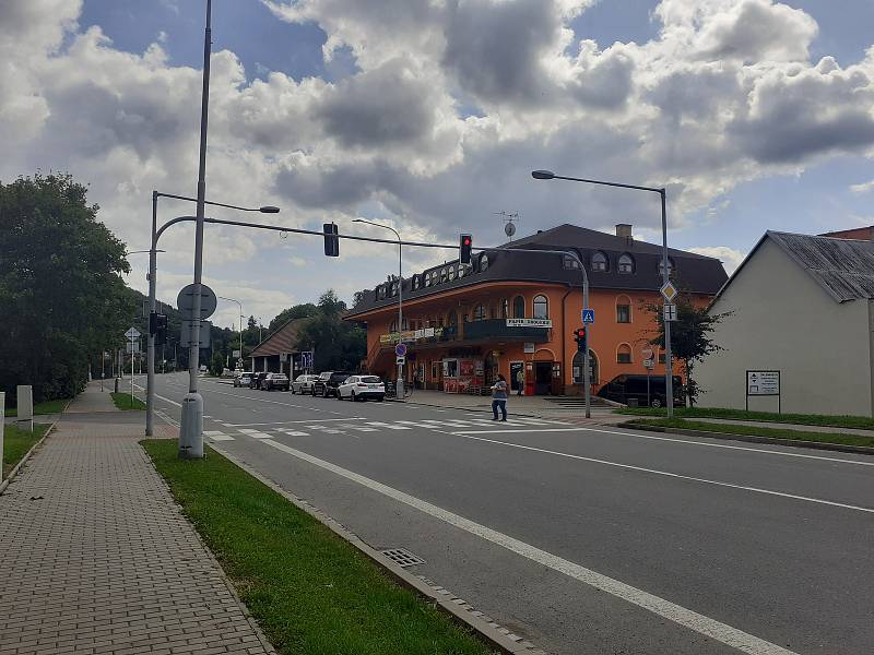 Město Hradec nad Moravicí.