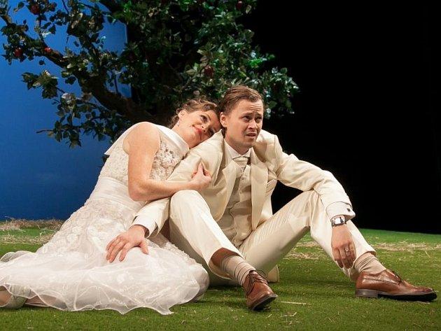 Elizabeth (Šárka Vykydalová) s manželem Arthurem (Daniel Volný) křísí staré zážitky.