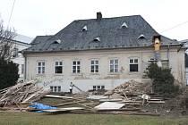 Pokud vše půjde podle plánu, rekonstrukce Müllerova domu by mohla být dokončena v příštím roce.