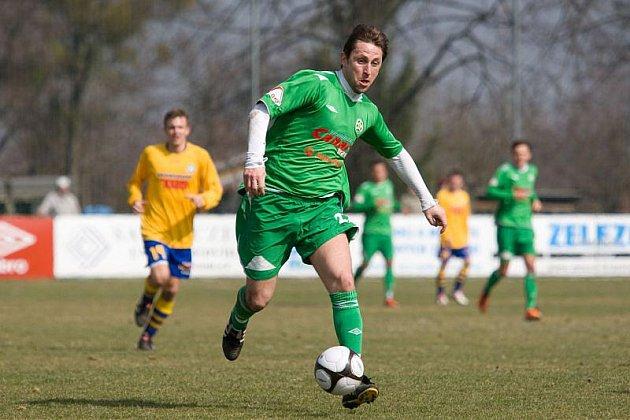 Martin Hanus nastoupil v neděli v základní sestavě a hned dal gól.