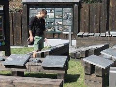 Součástí Muzea břidlice je i interaktivní zahrada.