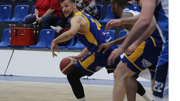 3. semifinále: Kolín - BK Opava. Foto: Ondřej Ludvík