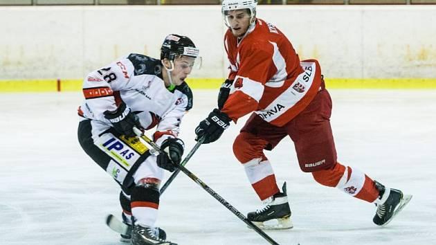 HC Slezan Opava – VSK Technika Brno 3:2 po prodloužení