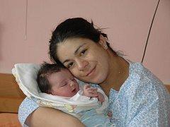 Jana Boháčová se narodila 11. dubna. vážila 4,35 kg a měřila 52 cm. Miminko se narodilo v ústecké porodnici.