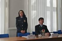 Nová ředitelka opavské policie Natálie Pastuchová Orlová. Jejím zastupováním je pověřen Jiří Marzoll.