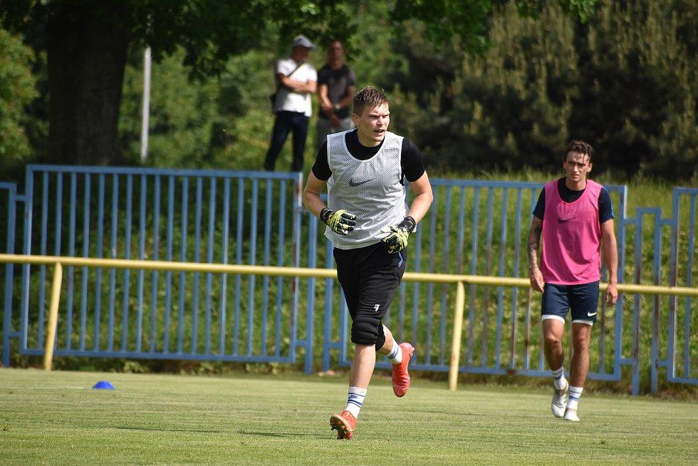 Fotbalisté Opavy začali přípravu. Foto: Eliška Žídková/SFC