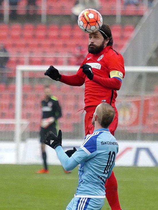 Fotbalista Pavel Zavadil udělal své první prvoligové kroky v dresu FC Perta Drnovice.
