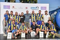 Deník Zaměstnanecká liga, 8. září 2021 v Bolaticích. Vítězný tým SFC Opava
