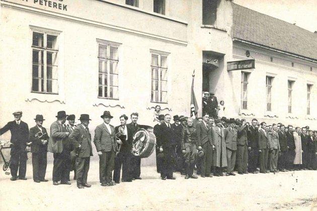 Odvod oldřišovských mužů kwehrmachtu, Kravaře 1939.