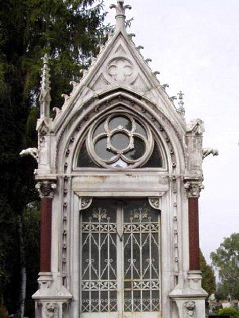 Hrobka rodiny Schaffer. Ilustrační foto.