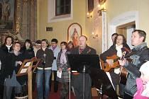 Na adventní neděli se v Hlubočci všichni lidé dobře bavili.