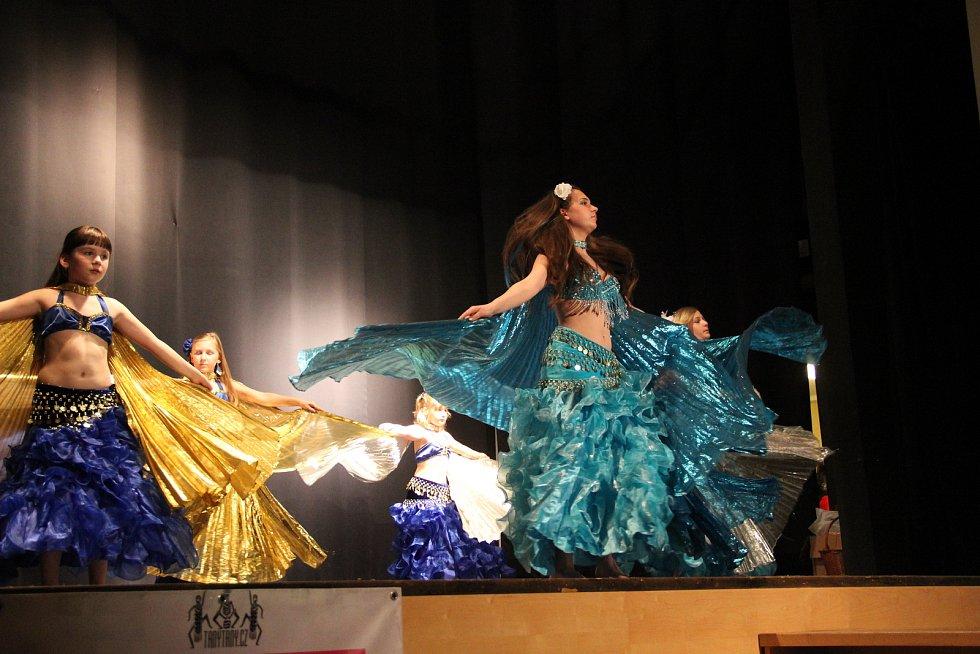 Oslava Mezinárodního dne tance proběhla v sobotu 28. dubna již podeváté pod taktovkou tanečního studia Tany Tany a její vedoucí Evy Afry Grambalové v opavském Kulturním domě Na Rybníčku.