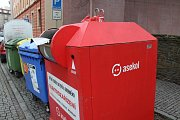 V tomto kontejneru v Solné ulici vyhasl život sedmnáctiletého mladíka z Opavy.