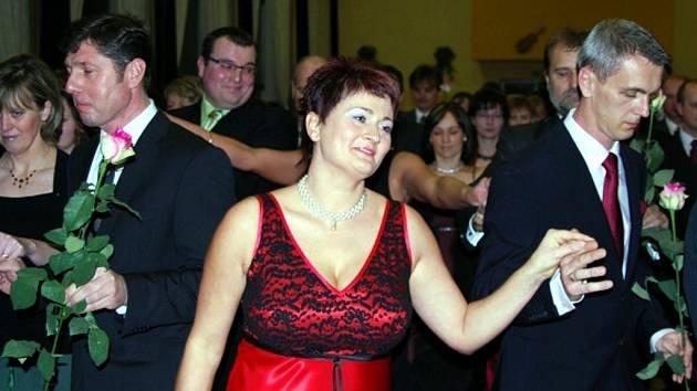O taneční pro páry byl v Bohuslavicích loni velký zájem. Obec se rozhodla je uspořádat letos znova.